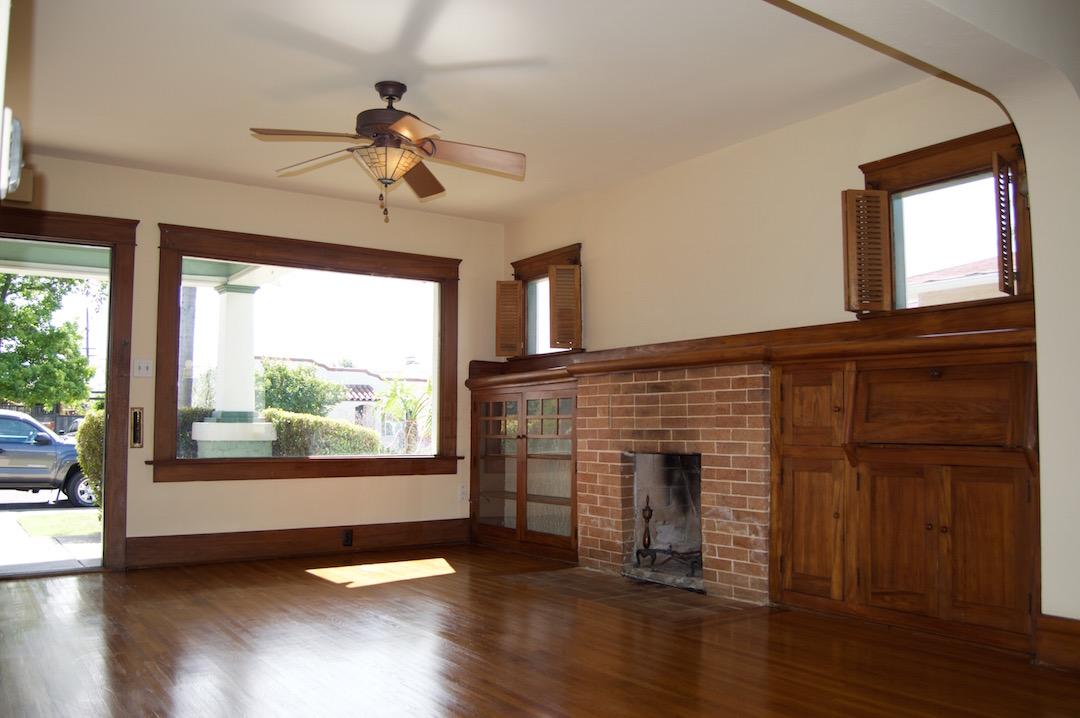 Rented craftsman home all original built ins for Garage built ins